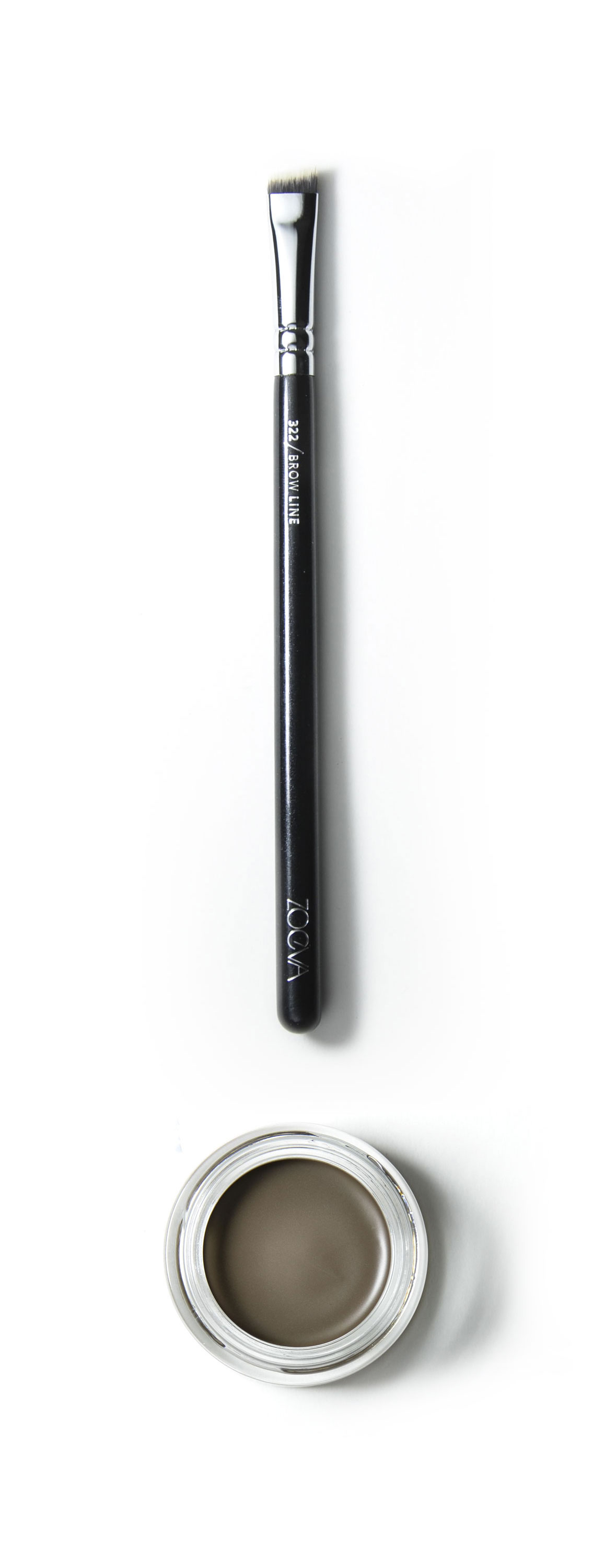 Dip Brow Pomade and 322 Brow Line Brush