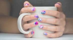 Nail It | Water Marble Manicure