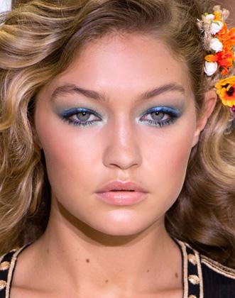 Dianne Von Furstenberg SS16 Makeup