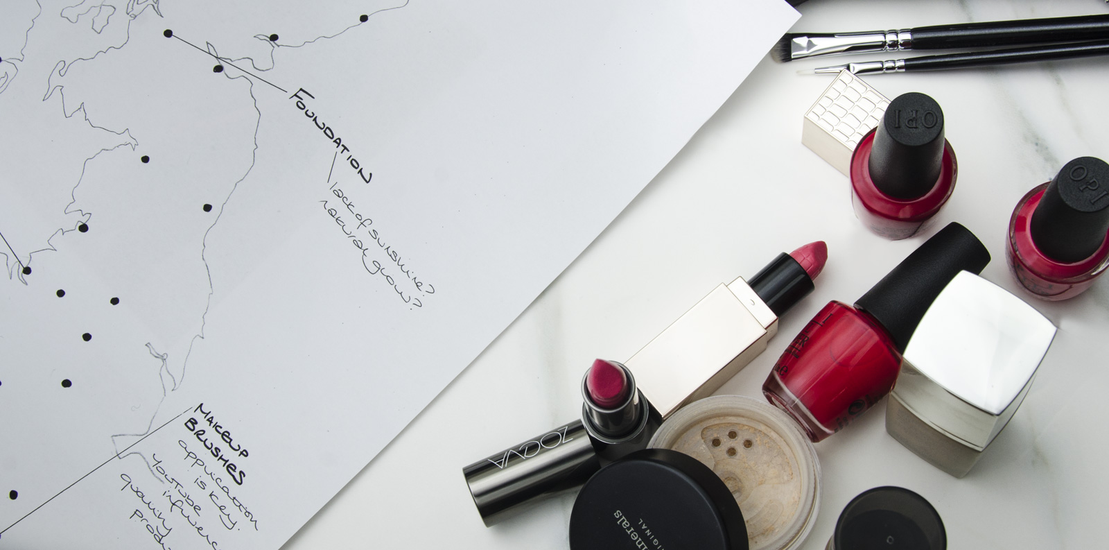 Bestselling Makeup Around The UK