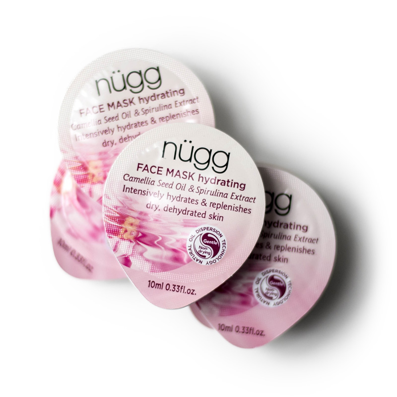 nugg hydrating face mask