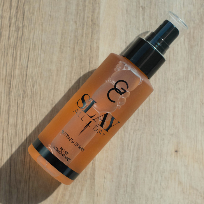 gerard cosmetics slay all day setting spray peach