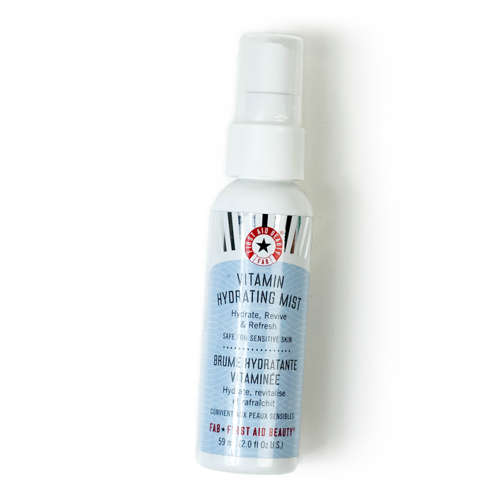 first aid beauty vitamin hydrating mist