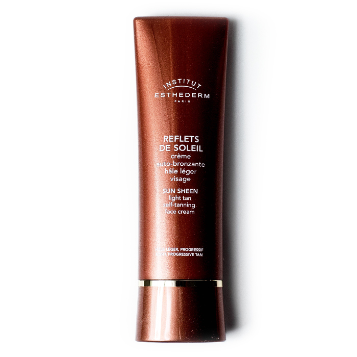 institut esthederm intense self tanning face cream