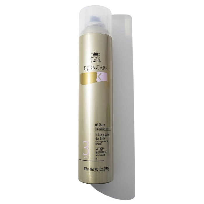 No frizz/humidity – KeraCare Oil Sheen Humidity Block Spray