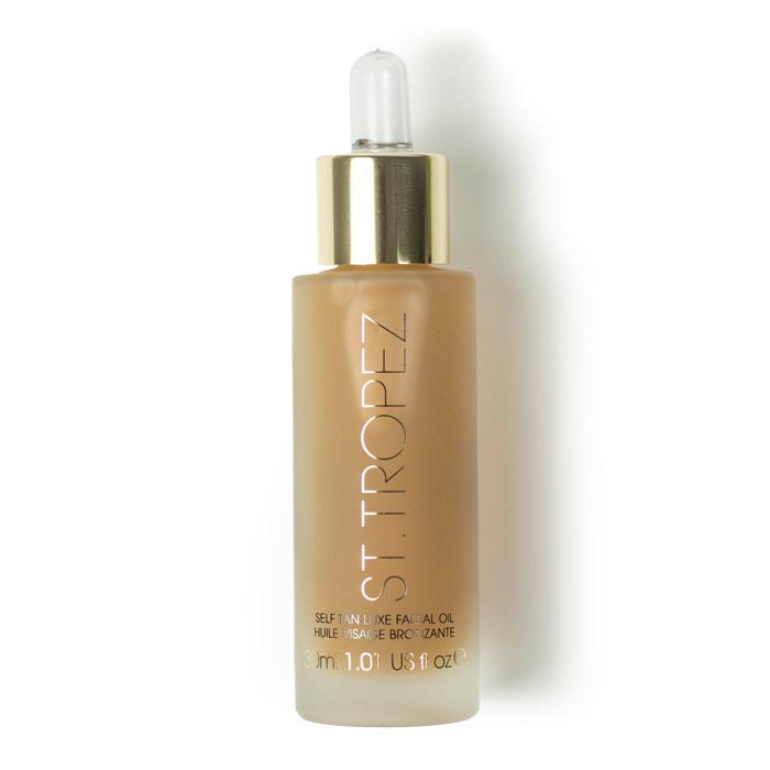 st tropez self tan luxe facial oil