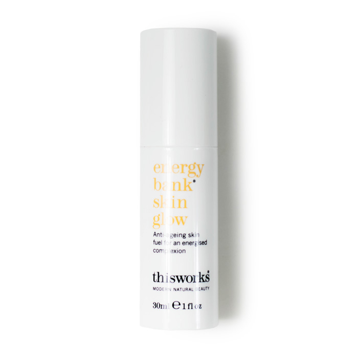 this works energy bank skin glow