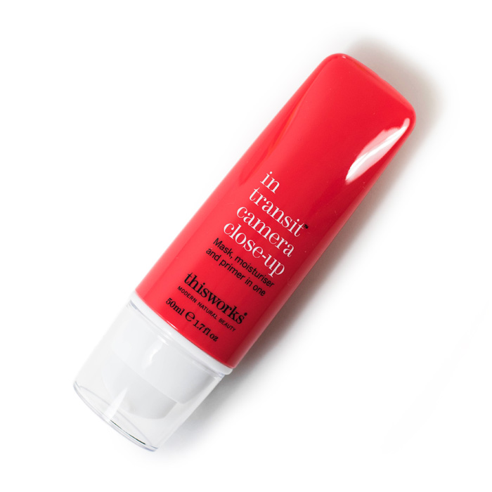this works in transit camera close up mask moisturiser primer