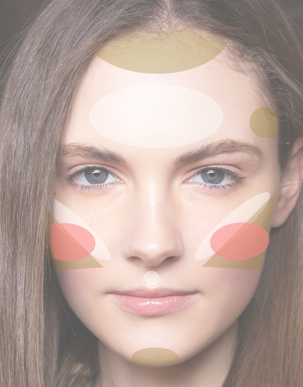 face-map-oval