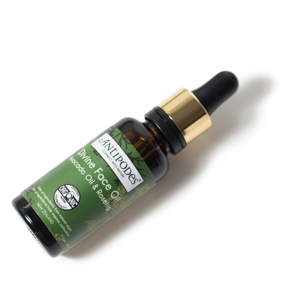antipodes divine face oil avocado oil rosehip