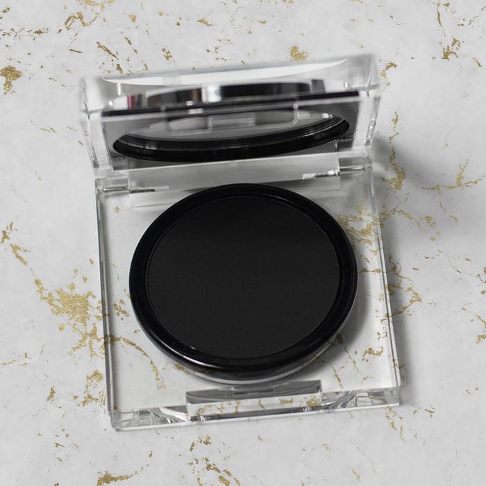 natasha denona blackest black eyeshadow