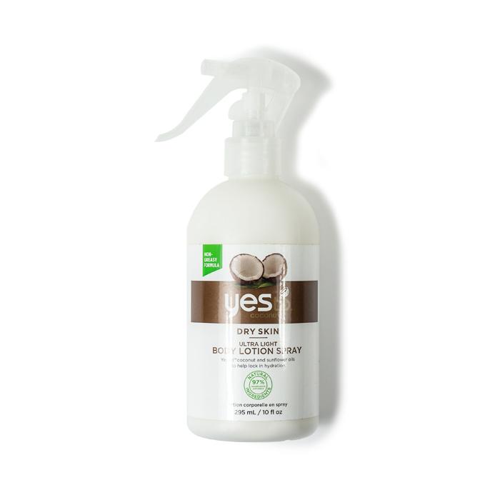yesto body lotion spray