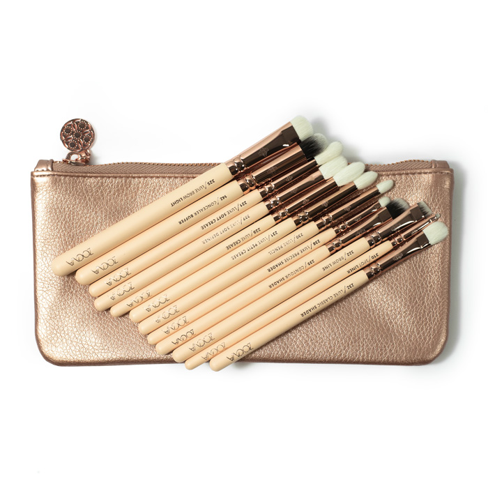 zoeva rose golden vol2 brush set