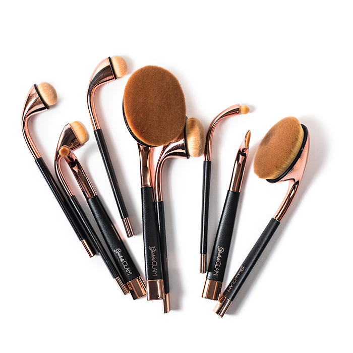 lily lashes 9 piece brush set