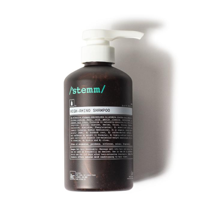 stemm high amino shampoo