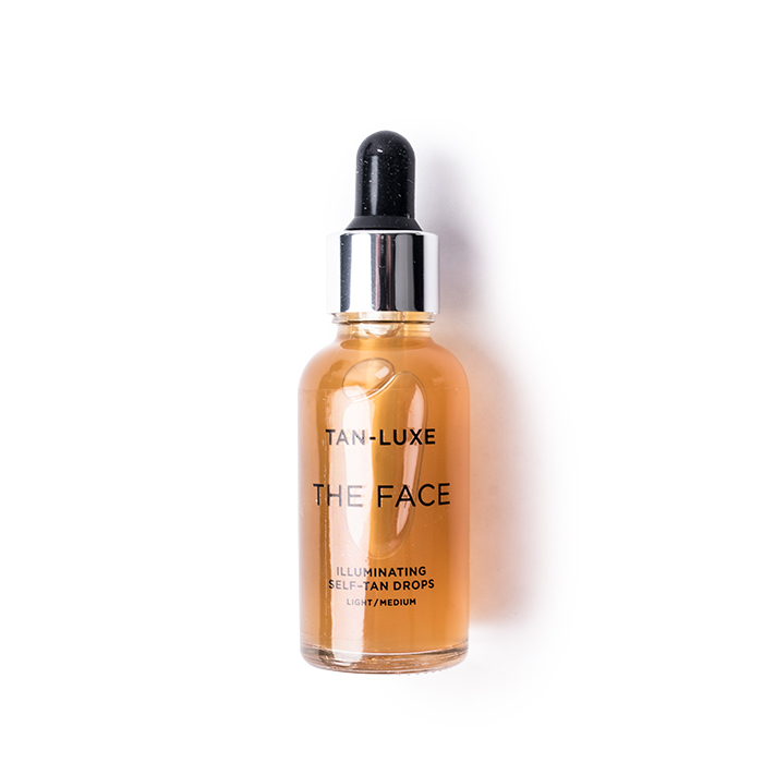 tan luxe the face