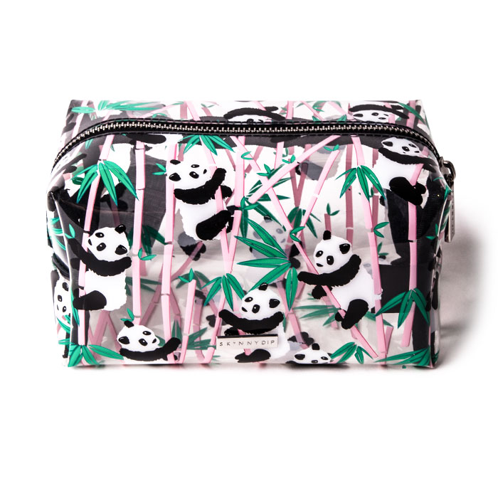 Skinnydip Panda Makeup Bag