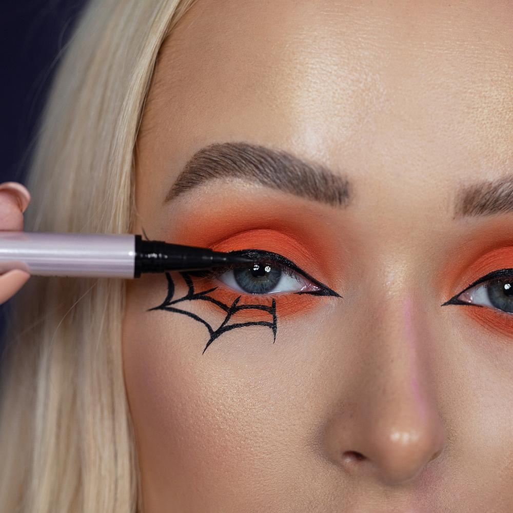 Halloween Inspired Eye Makeup.Get The Look Spider Makeup For Halloween Beauty Bay Edited