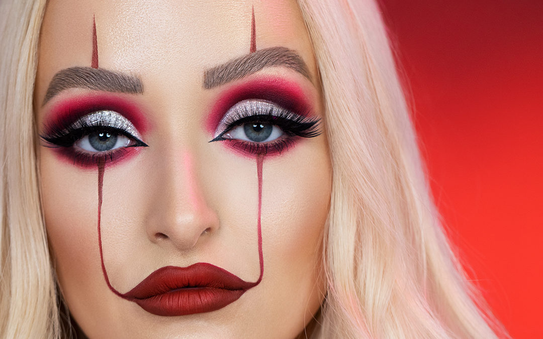 It Inspired Clown Makeup For
