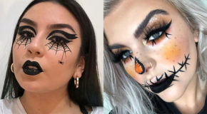 7 Quick And Easy Halloween Looks From Instagram