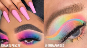 These Looks Will Convince You To Try Watercolour Makeup