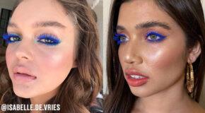 7 Ways To Wear Blue Mascara
