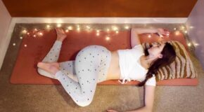3 Stress-Relieving Yoga Moves To Do Before Bed