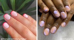30 Nail Art Ideas For Short Nails