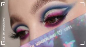Disney Colour and BEAUTY BAY: Disney's Alice In Wonderland-Inspired Makeup Tutorial