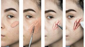 Easy Halloween SFX Makeup Tutorial