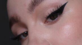 How To Apply Eyeliner Using Tape